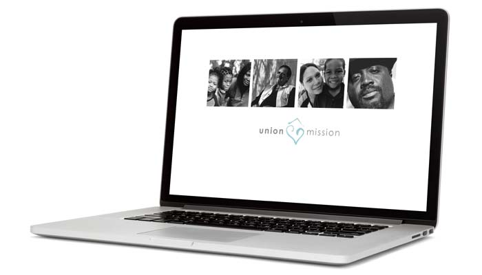 Union Mission homepage